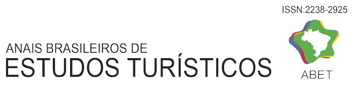 Anais Brasileiros de Estudos Turísticos ABET ISSN 2238-2925