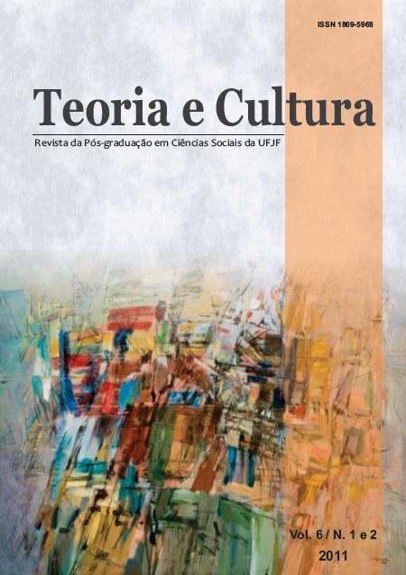 Visualizar v. 6 n. 1 E 2 (2011): Teoria e Cultura