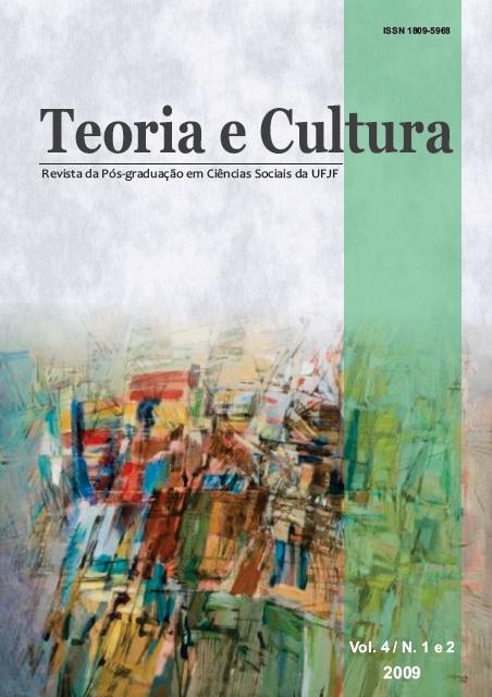 Visualizar v. 4 n. 1 E 2 (2009): Teoria e Cultura