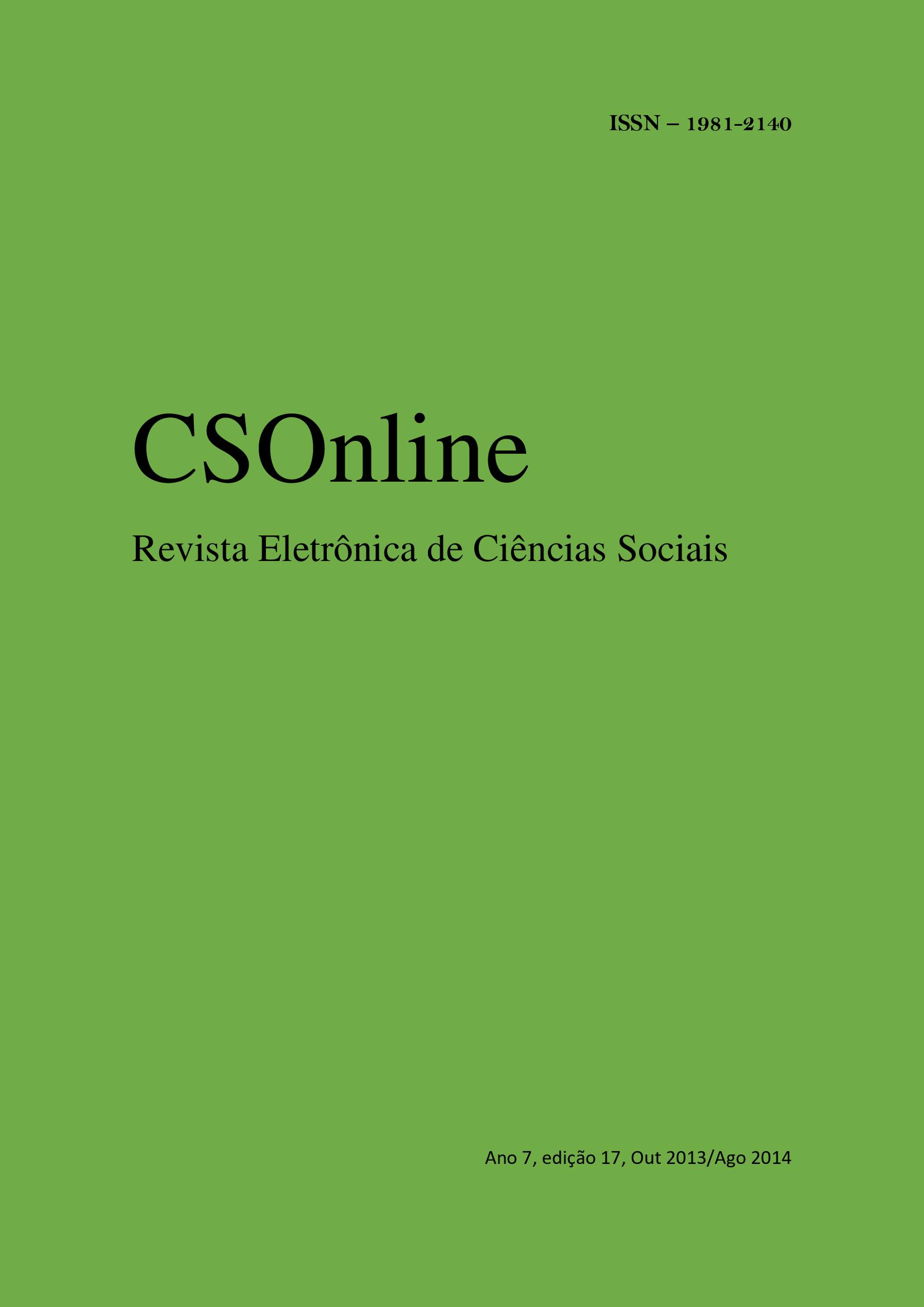 Visualizar n. 17 (2014): CSOnline