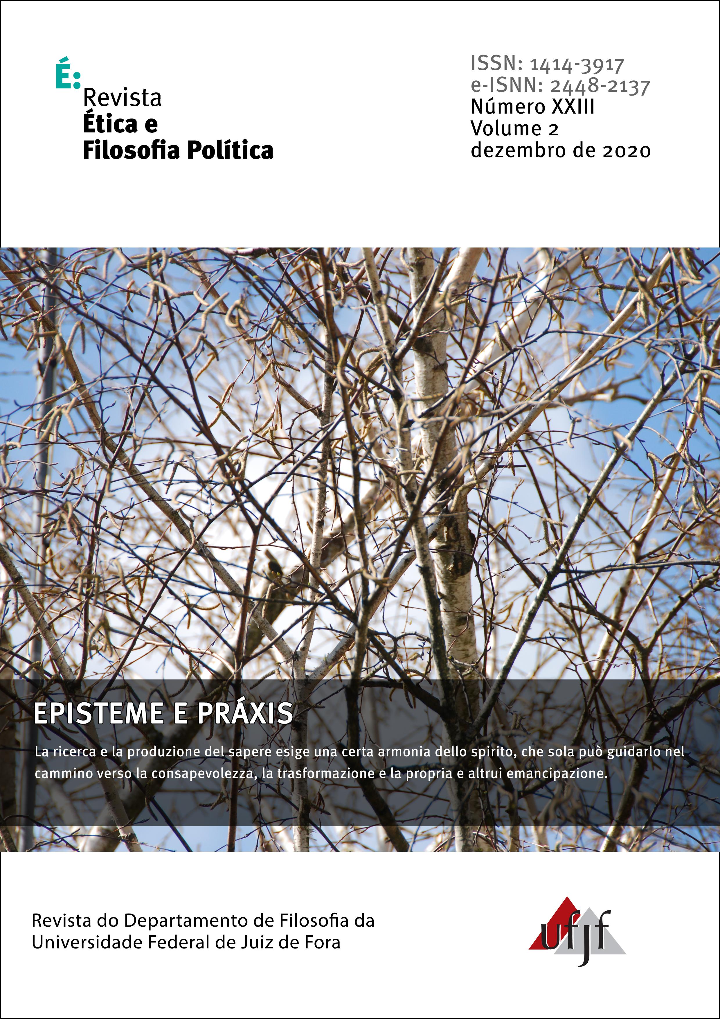 Visualizar v. 2 n. 23 (2020): Episteme e Práxis