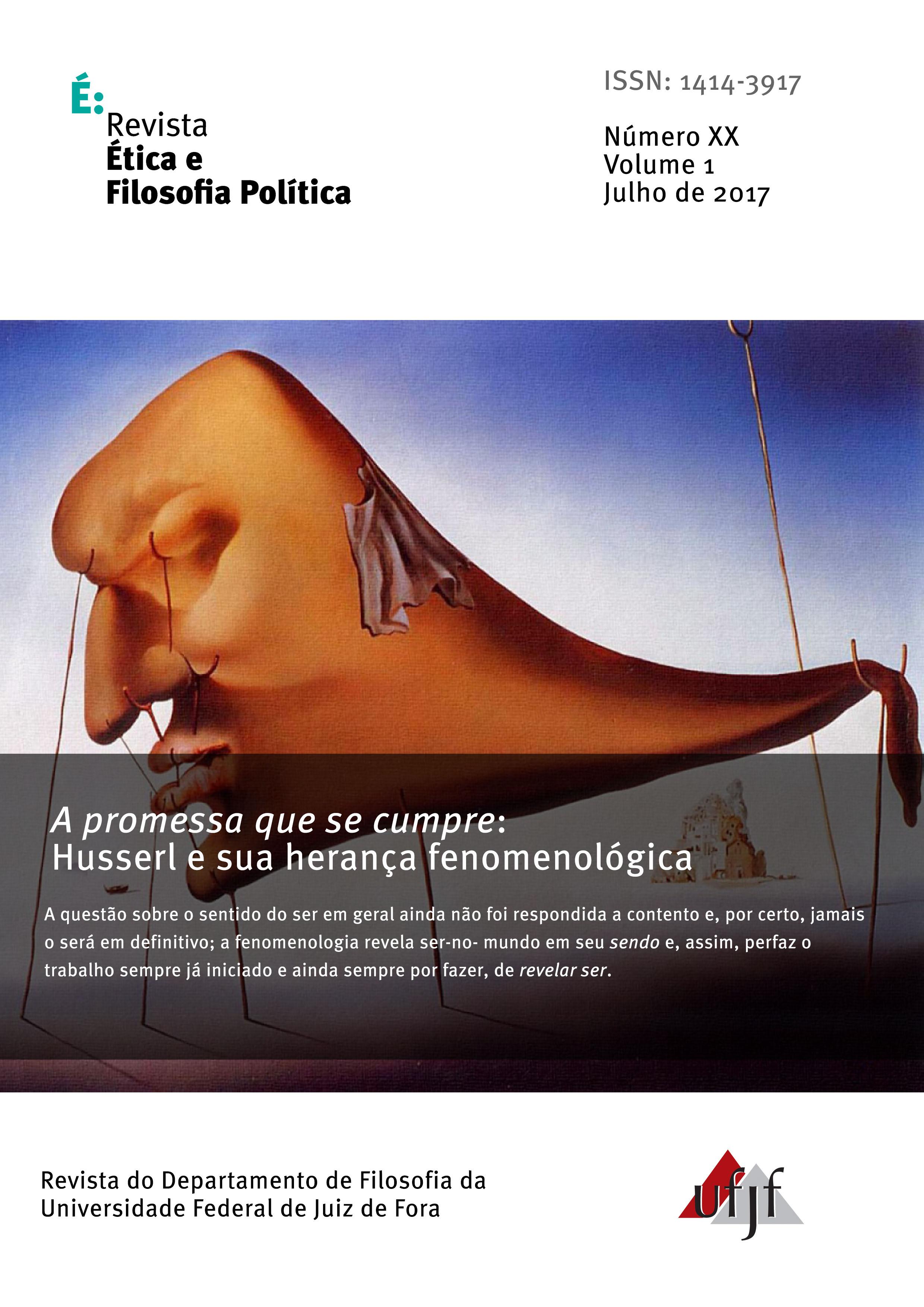 Visualizar v. 1 n. 20 (2017): Husserl e sua herança fenomenológica