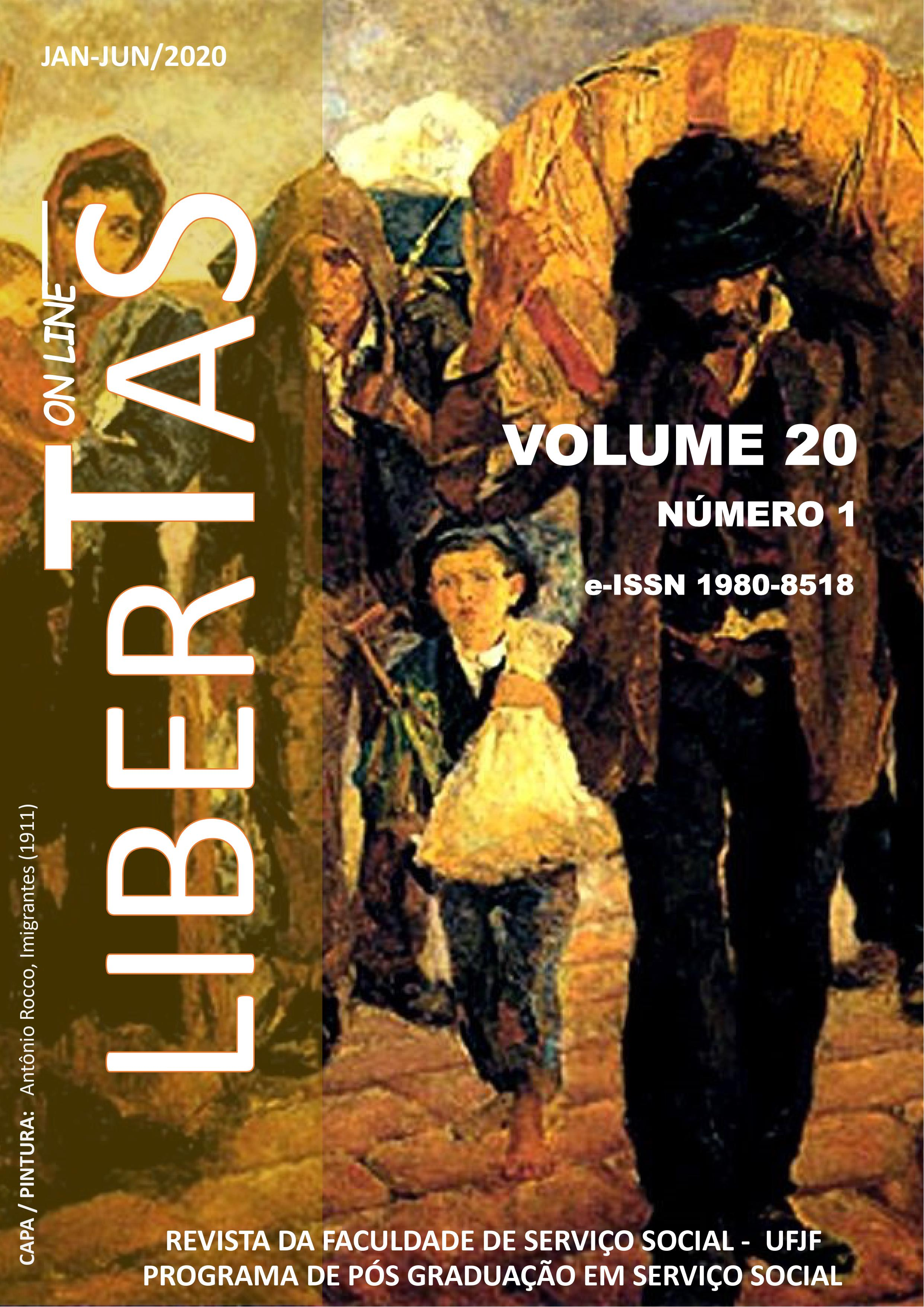 Visualizar v. 20 n. 1 (2020): Revista Libertas - ISSN: 1980-8518 (jan / jun 2020)