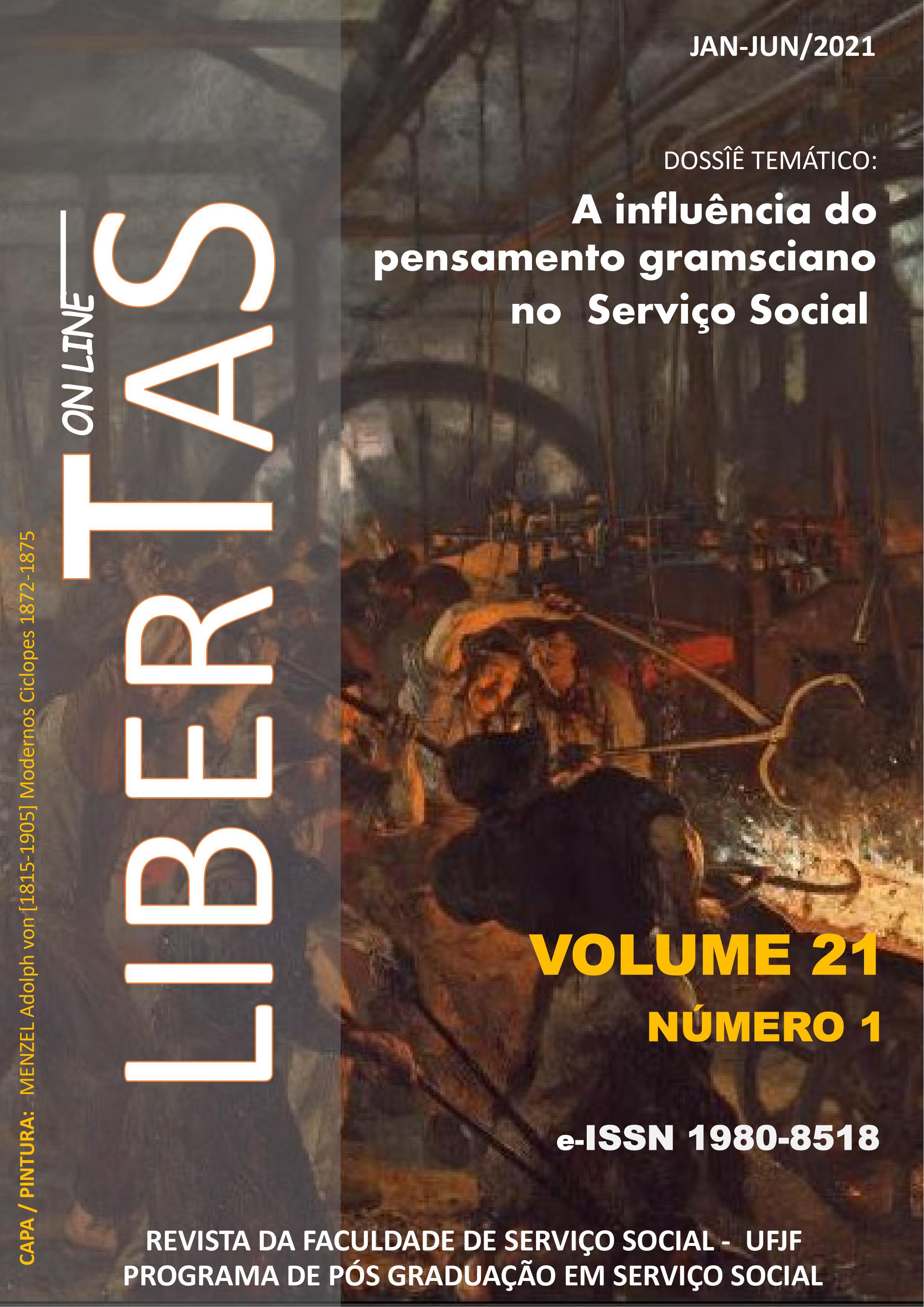 Visualizar v. 21 n. 1 (2021): Revista Libertas - ISSN: 1980-8518 (jan / jun 2021)