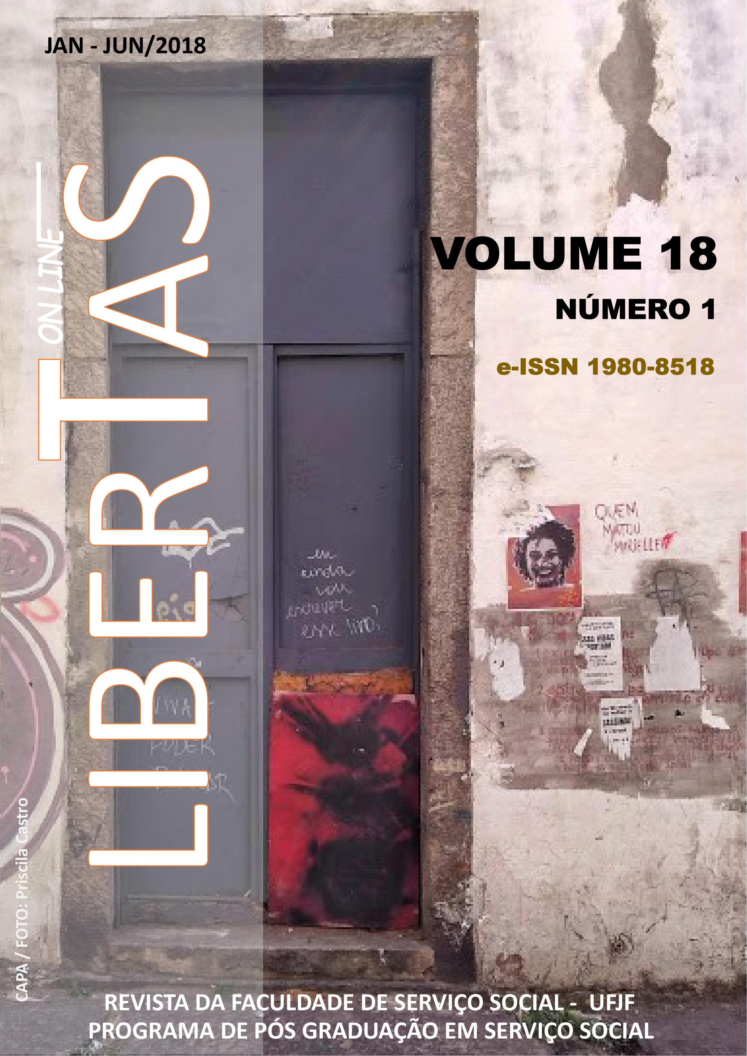 Visualizar v. 18 n. 1 (2018): Revista Libertas - ISSN: 1980-8518 (jan. jun. 2018)