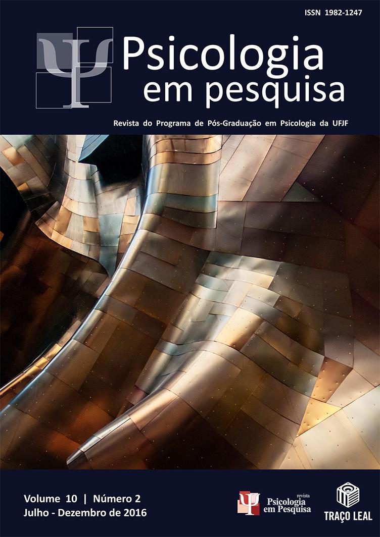Capa Revista em Psicologia