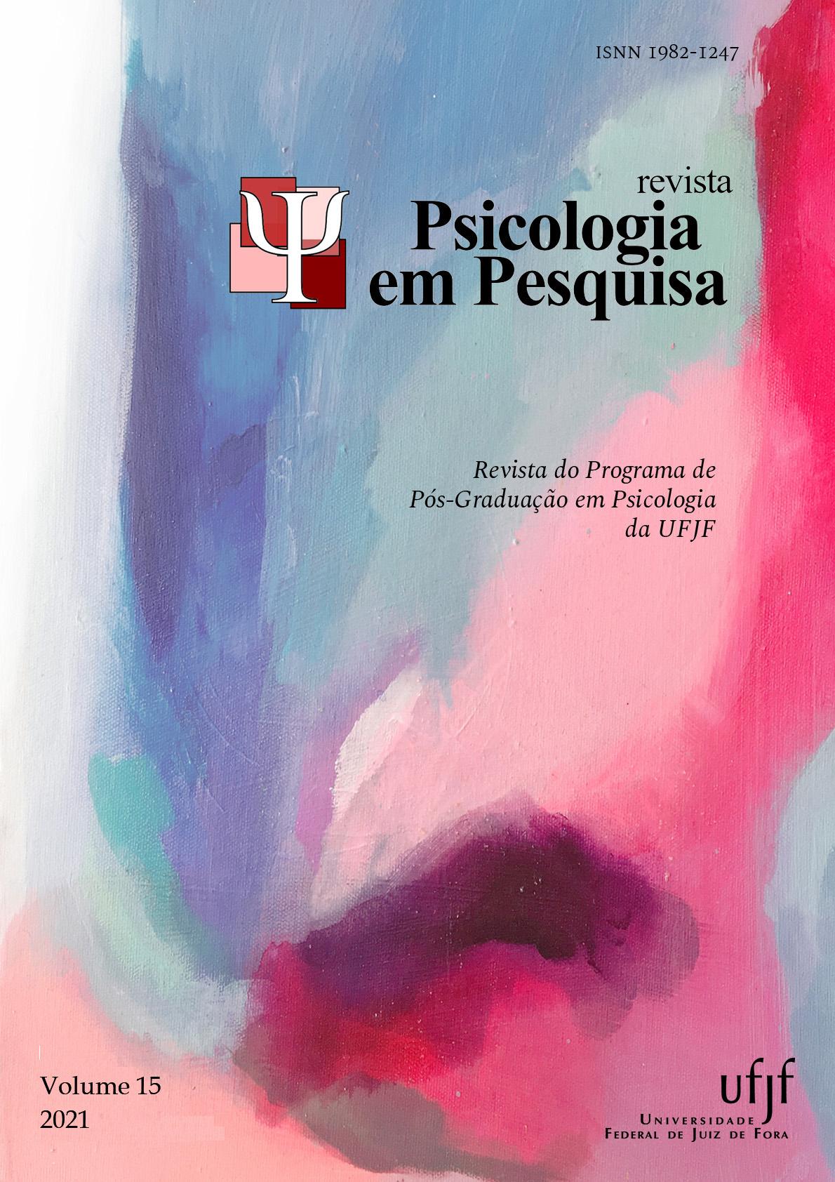 Visualizar v. 15 n. 1 (2021): Revista Psicologia em Pesquisa