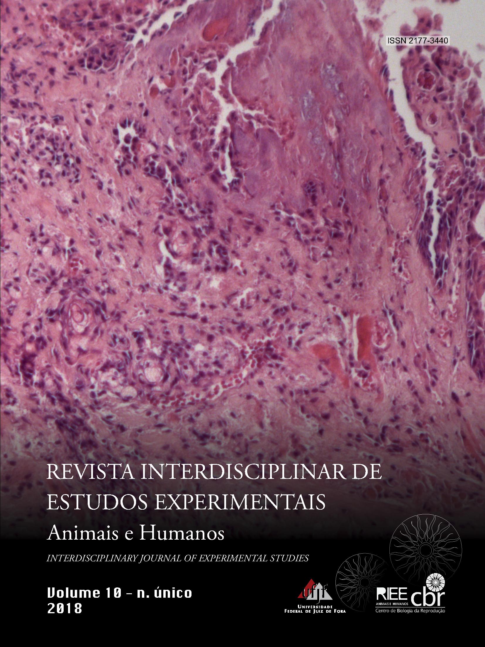 Visualizar v. 10 n. Único (2018): Revista Interdisciplinar de Estudos Experimentais -  Animais e Humanos