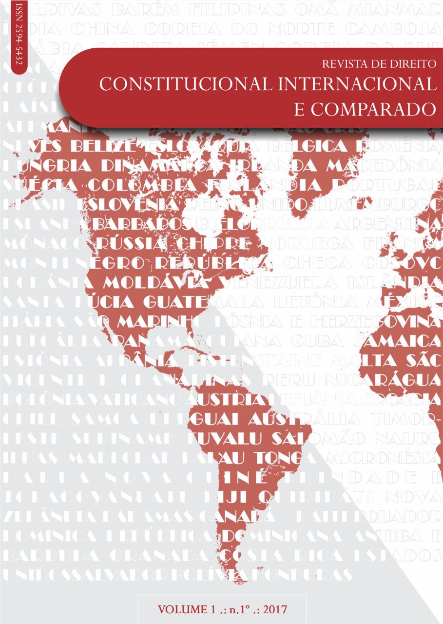 Visualizar v. 1 n. 1 (1): Revista de Direito Constitucional Internacional e Comparado