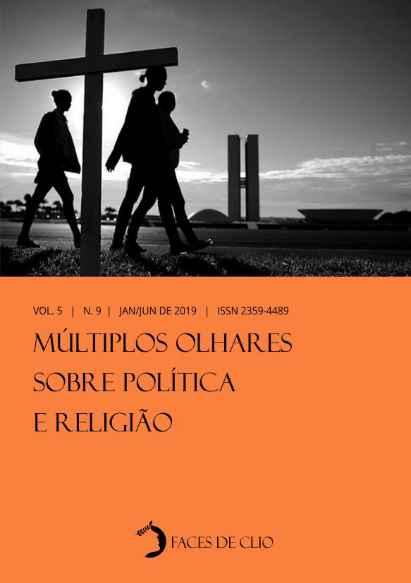 Visualizar v. 5 n. 9 (2019): Múltiplos Olhares Sobre Política e Religião