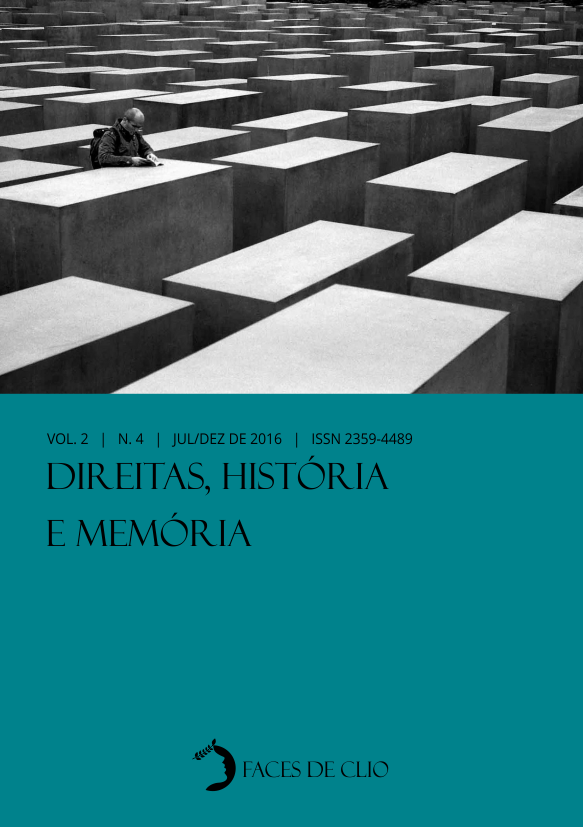 Visualizar v. 2 n. 4 (2016): Direitas, História e Memória