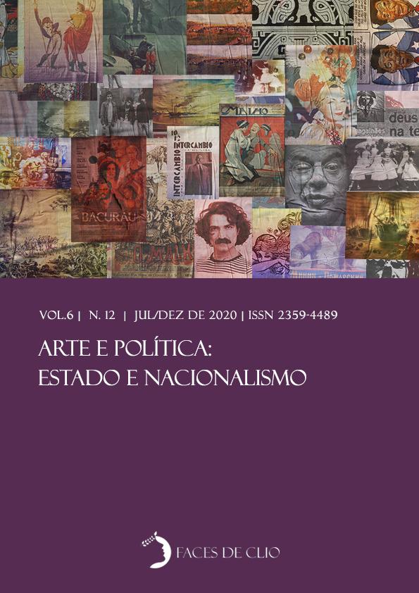 Visualizar v. 6 n. 12 (2020): Arte e política: Estado e nacionalismo