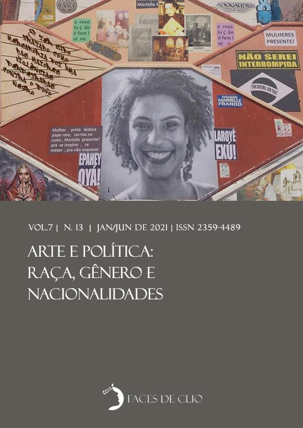 Visualizar v. 7 n. 13 (2021): Arte e política: Raça, gênero e nacionalidades