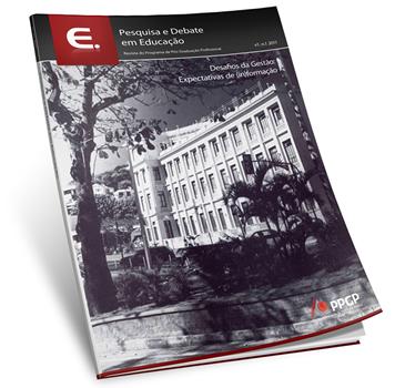 Visualizar v. 1 n. 1 (2011): Desafios de gestão: expectativas de (in) formação