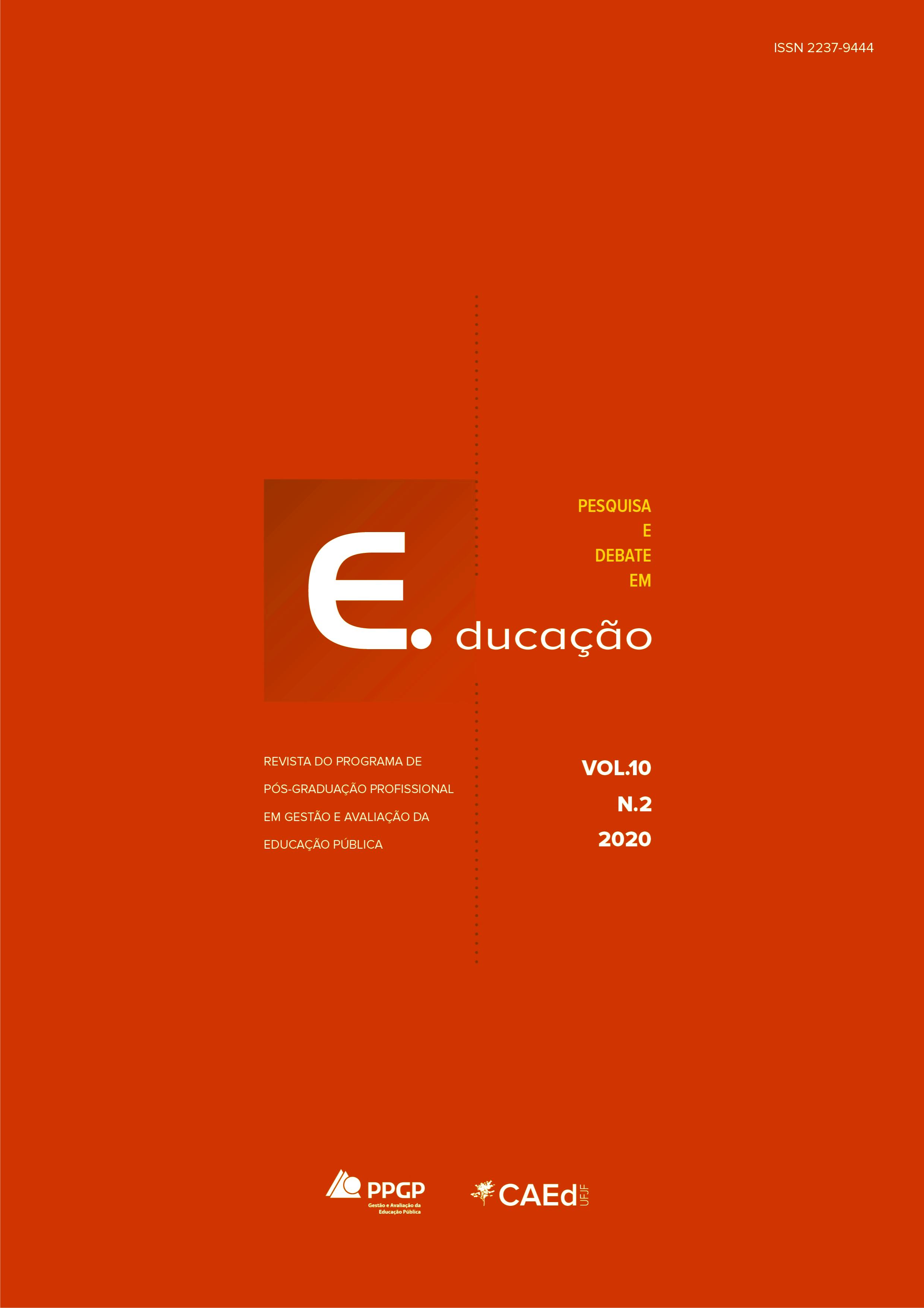 Visualizar v. 10 n. 2 (2020): Pesquisa e Debate em Educação