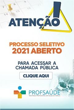 ProfSaúde - Processo seletivo 2021 - clique aqui